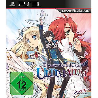 The Awakened Fate Ultimatum PS3 Game (German Box - English In Game)