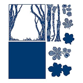 Tattered Lace Homefield Clearing Die Set