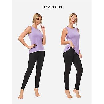 Bamans Women's Skinny Leg Work Pull on Slim Stretch Yoga Dress Pants w/Tummy ...