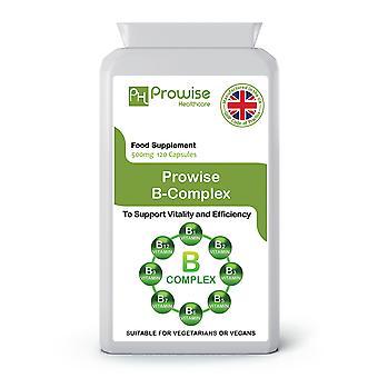 Vitamin B Complex | Suitable For Vegetarians & Vegans | Made In UK