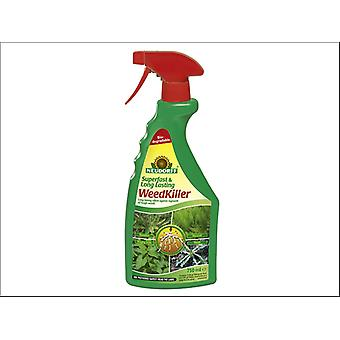Neudorff Superfast Long Lasting Weed Killer Ready to Use 750ml