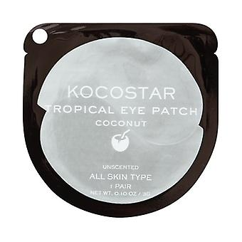 Kocostar Coconut Nourishing Under Eye Patch - 1 Pair