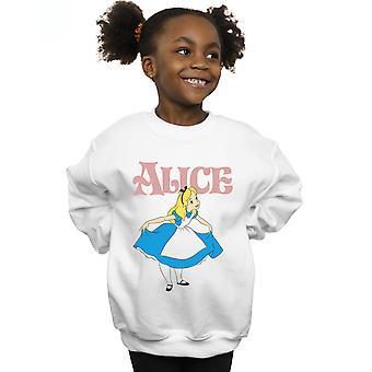 Disney Girls Alice Ihmemaassa Ottaa rusetti collegepaita