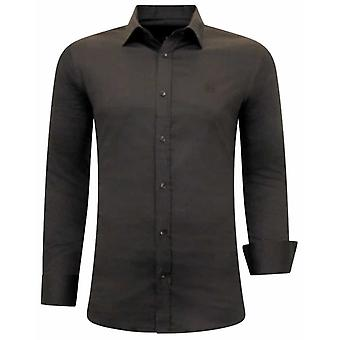 Special Shirts - Slim Fit - Brown