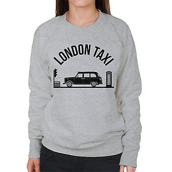 London Taxi Company TX4 At Traffic Lights Women's Sweatshirt