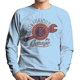 Fast and Furious 8 Garage Logo Men's Sweatshirt