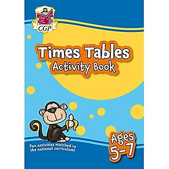 New Times Tabeller Aktivitet Book for aldre 5-7