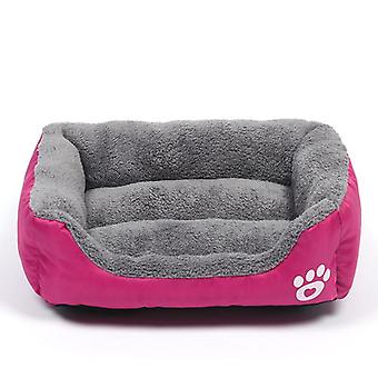 Warm Cozy Dog House, Soft Fleece Nest, Baskets, Ma, Autumn Winter Waterproof