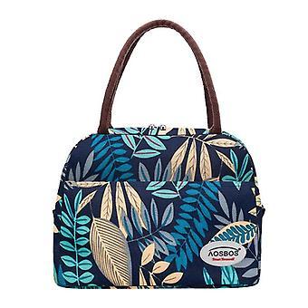 Tragbare Kühler Lunch Bag Thermal isoliert Multifunktions Lebensmitteltaschen / Frauen
