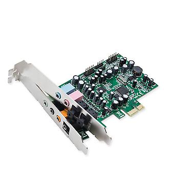 Syba 7.1 surround son pcie carte son, s / pdif in & amp; hors cm8828 chipset interne 7.1 son surround