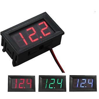 Digitale Voltmeter-voltage Panel Meter Electromobile Motorcycle Car