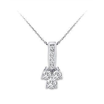 Diamantový prívesok 0,50 ct.tw.