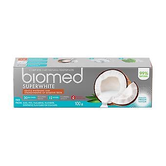 Supervalkoinen valkaisun hammastahna 99% Luonnollinen 100 g