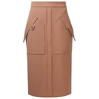Eleventy B80gonb06tes0b20195 Women's Pink Polyester Skirt