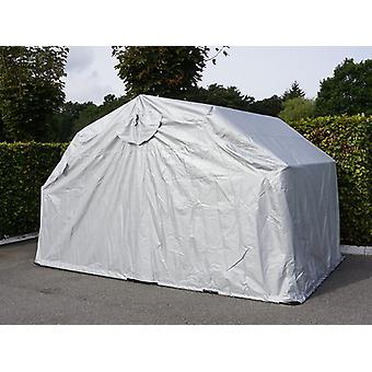 Folding garage (MC), 1.88x3.45x1.9 m, Grey