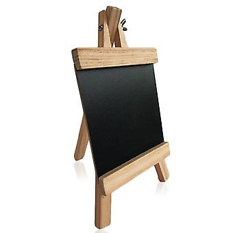 Mini Desktop Pine Wood Easel Blackboard, Chalkboard