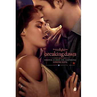 The Twilight Saga Breaking Dawn film affisch (11 x 17)