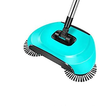Magic Broom Stainless Steel Sweeper Dustpan,  Hand Push Cleaner