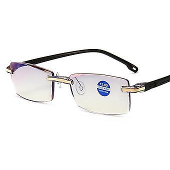 Anti-blue Light Reading Glasses, Magnification Eyewear Presbyopic Glass