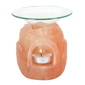 Noget andet Himalaya Salt Lotus Oliebrænder