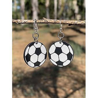 Fotbalový míč náušnice