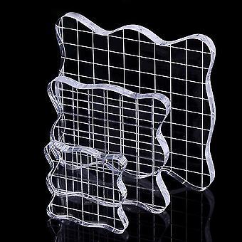 Ccinee stamp block, pack of 3, transparent