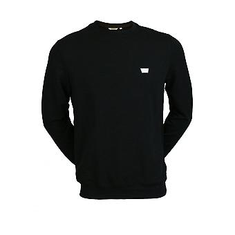 Antony Morato Men's Crew Neck Long Sleeve Sweatshirt - Zwart