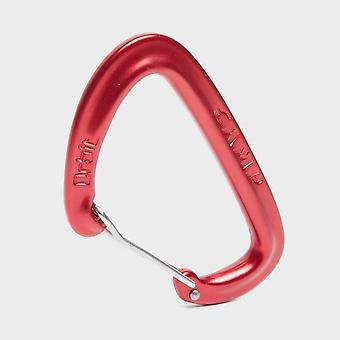 New Camp Orbit Wire Carabiner Red