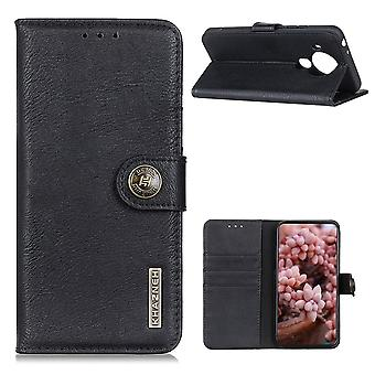 KHAZNEH Nokia 5.4 Brieftasche Fall - Schwarz