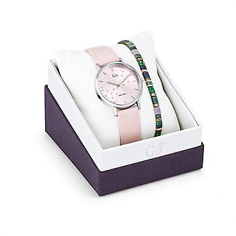 Women's Watch Go Girl Only Watches 698570 - Pink Leather Bracelet