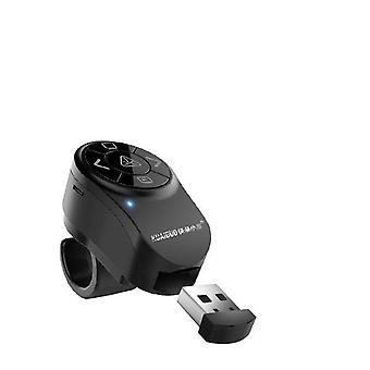 Anneau Flip Pen PPT Laser Remote Control Electronic Red Projection Pointeur