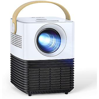 Mini Projector, Portable LCD Video Projector, Support 1080P Full HD