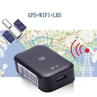 Gf21 Mini Gps Real Time Car Tracker Anti-lost Device Voice Control Recording