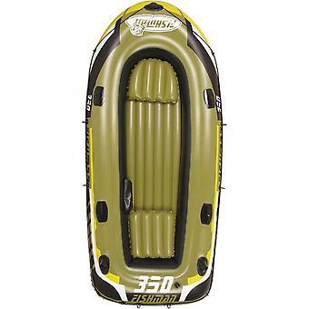 Fishman 350 uppblåsbar båt - 305x136x42 cm - Inklusive pump och åror