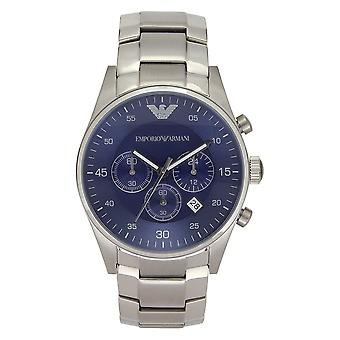 Armani Ar5860 Gents Silver Stainless Steel Watch