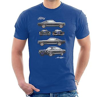 Ford Mustang Multi View Men't-shirt