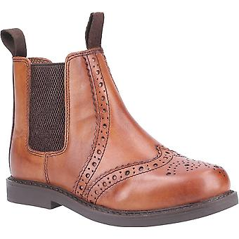Cotswold nympsfield kids brogue pull on chelsea boots unisex
