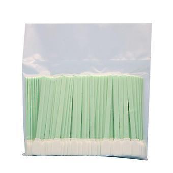 Kaksikerroksiset polyesteripään puhdistusnäytteet Pölytön tikku tulostimista