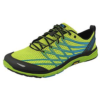 Mens Merrell Lace Up Sporty Trainers Bare Access 3