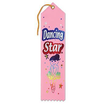 Cinta de premio Dancing Star Award (Pack of 6)