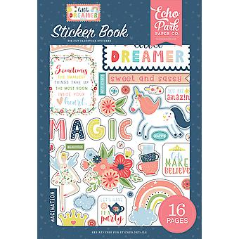 Echo Park Little Dreamer Girl Sticker Book