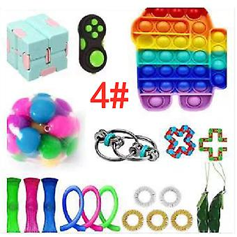 20st set Sensory Fidget Toys Decompressie speelgoed set