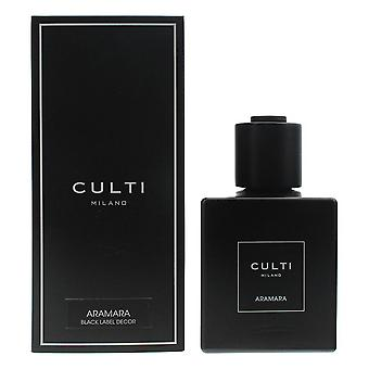 Culti Milano Black Label Decor Diffuser 500ml - Aramara - Sticks Not Included