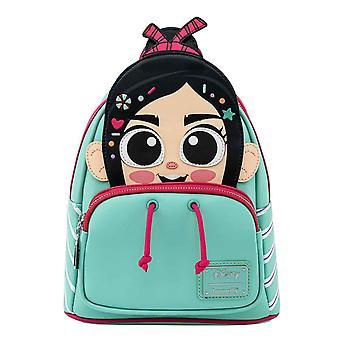 Loungefly Disney Mini Backpack Wreck It Ralph Vanellope ny tjänsteman