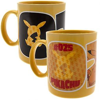Pokemon Heat Changing Mug Pikachu 25