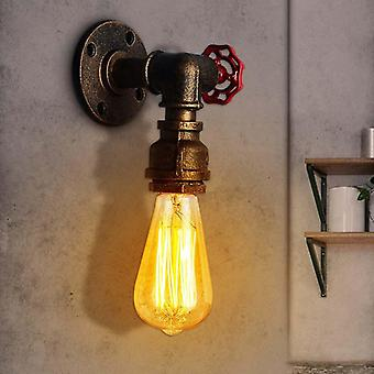 E27 Vintage Water Pipe Wall Lamp Faucet Shape