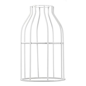HOOPZI - Cage - Steel daybat - 8 colours - for light or lamp suspension - compatible socket E27 - White