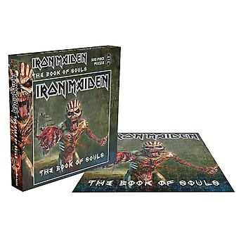Iron Maiden Jigsaw Puzzle The Book Of Souls new Official Green 500 Piece