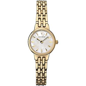 Accurist Lb1405p Or Stainless Steel Ladies Watch