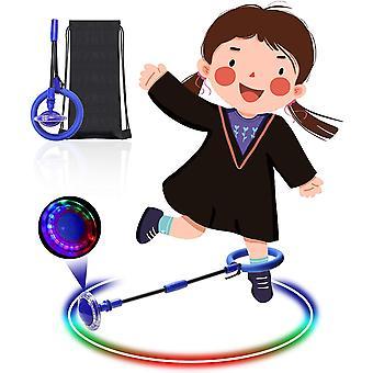 Wokex Kinder Blinkender Springring, Knchelsprungball Glhender Springender Ball Blinkender Sprungball